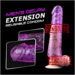 Sleeve Delay Extension   Lebih Besar , Panjang & Tahan Lama