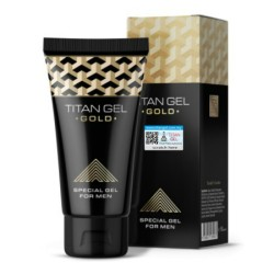 Titan Gel Gold Original Russia | Special Gel For Men
